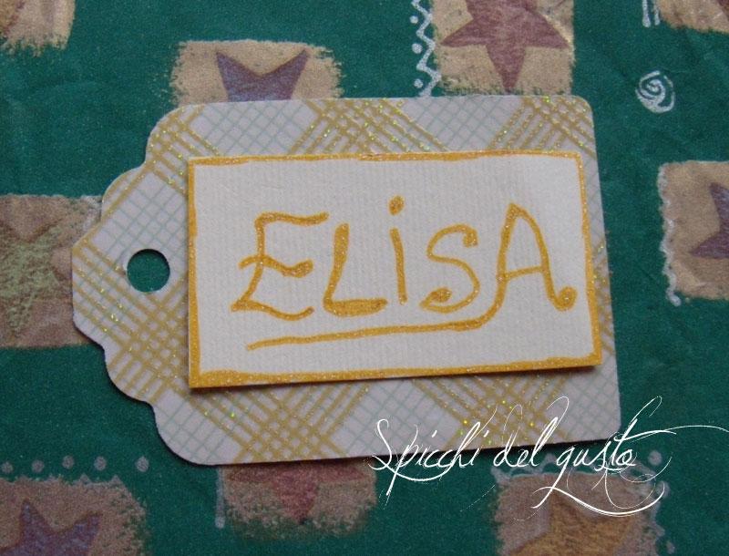 Etichette personalizzate per regali o segnaposti