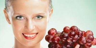 Manfaat buah anggur untuk kesehatan dan kecantikan kulit alami