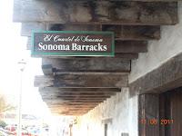 sonoma barracks in sonoma california