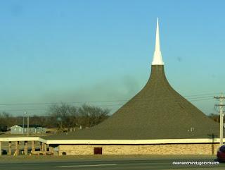 a slightly different steeple near Oklahoma City