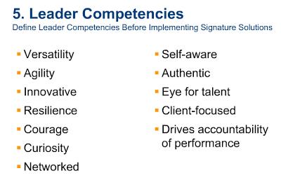компетенции лидера