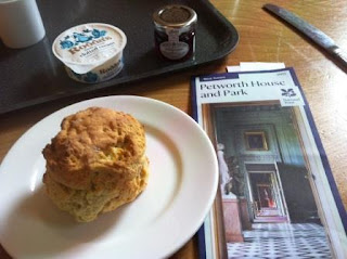 Picture of scone at Petworth House