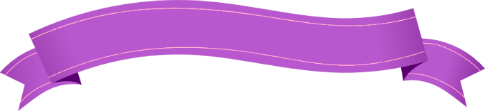 Purple Banner Png - info