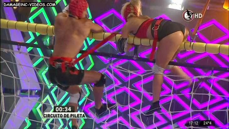 Florencia Vigna hot ass in shorts HD video