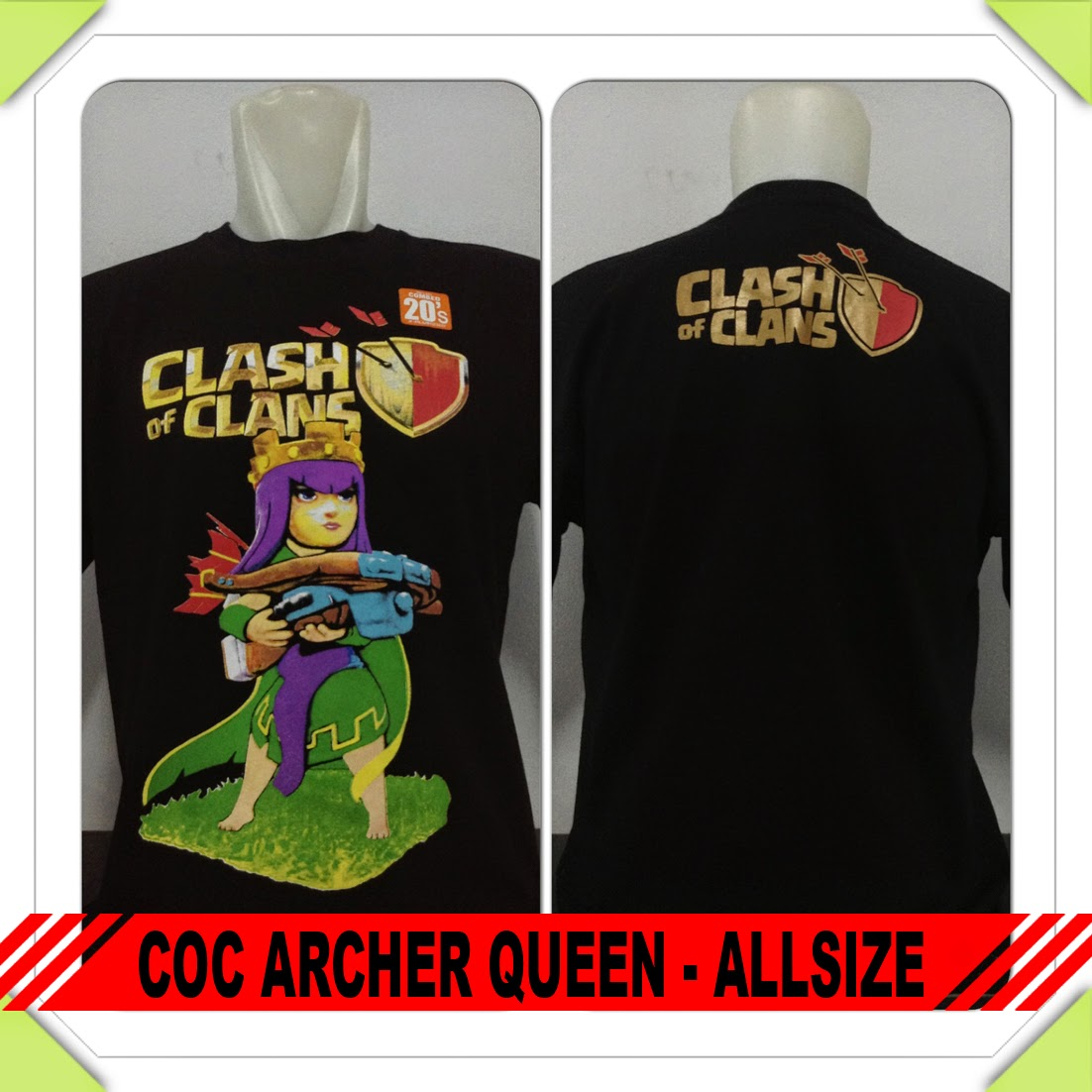 Baju COC Archer Queen