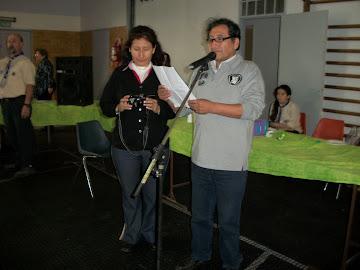 SALÓN CULTURAL DEL DIA DEL MIGRANTE 2012