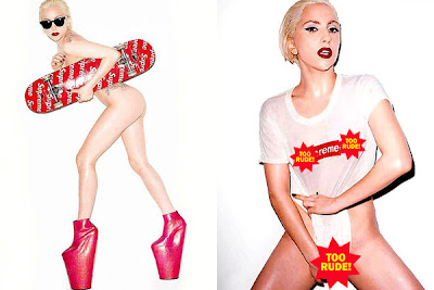Supreme, Lady Gaga, Skateboard