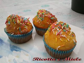 muffin sofficcissimi alla ricotta / muffin super suaves a la ricotta