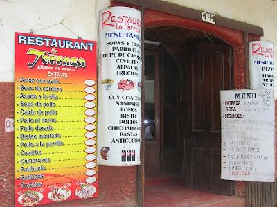 Restaurante Las Terrazas, Puno, Perú, La vuelta al mundo de Asun y Ricardo, round the world, mundoporlibre.com