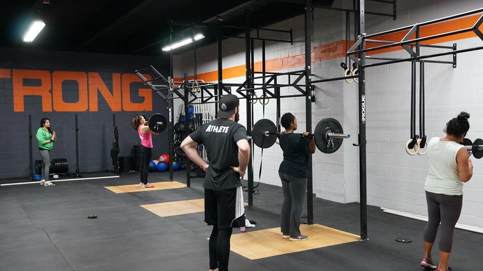 Crossfit opening a box