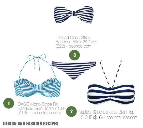 Strip Bikini on Design and fashion recipes