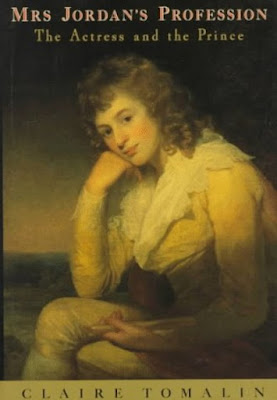 Front cover of Mrs Jordan's Profession by Claire Tomalin