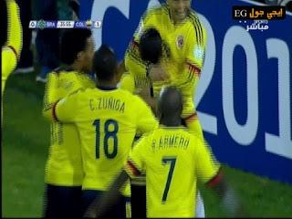 اهداف مبارة البرازيل و كولومبيا فى كوبا امريكا