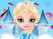 Baby Barbie Disney Hair Salon is a free online game for girls on GamesGirlGames.com. Baby Barbie is getting ready for a Disney themed party and she would like to dress up as one of her favorite Disney Princesses. In this lovely new Baby Barbie Disney Hair Salon game you can prove that you are a great hairstylist by creating baby Barbie's princess hairdo. Clean her hair with the shower and dry it. Now she is ready to get her hair styled up and give baby Barbie beautiful braids with decorations.