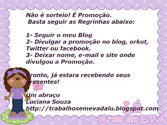Promoção blog da Lú...