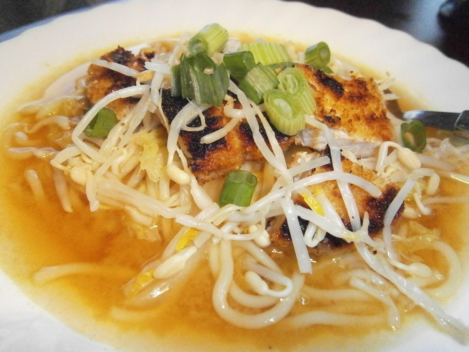 D lices d 39 une novice soupe de ramen nouilles chinoises - Cuisiner du choux chinois ...