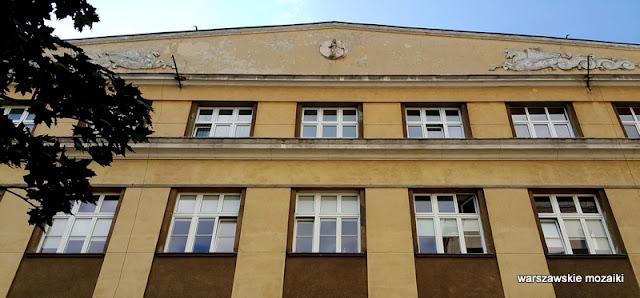 Warszawa Wola Wolska 54 gmach ubezpieczeń społecznych Gay