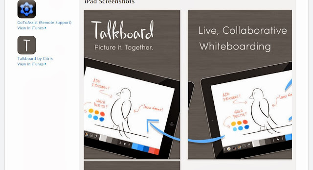 Get social whiteboard app for Apple iOS: Work, group collaborate or play on iPad, iPhone, iPod Touch