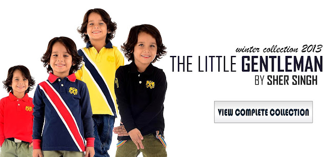 The Little Gentleman Winter Collection 2013 By Sher Singh