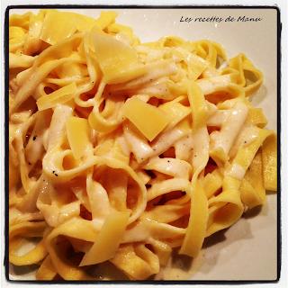 les recettes de manu p 226 tes italiennes 224 la cr 232 me de truffe et parmesan reggiano