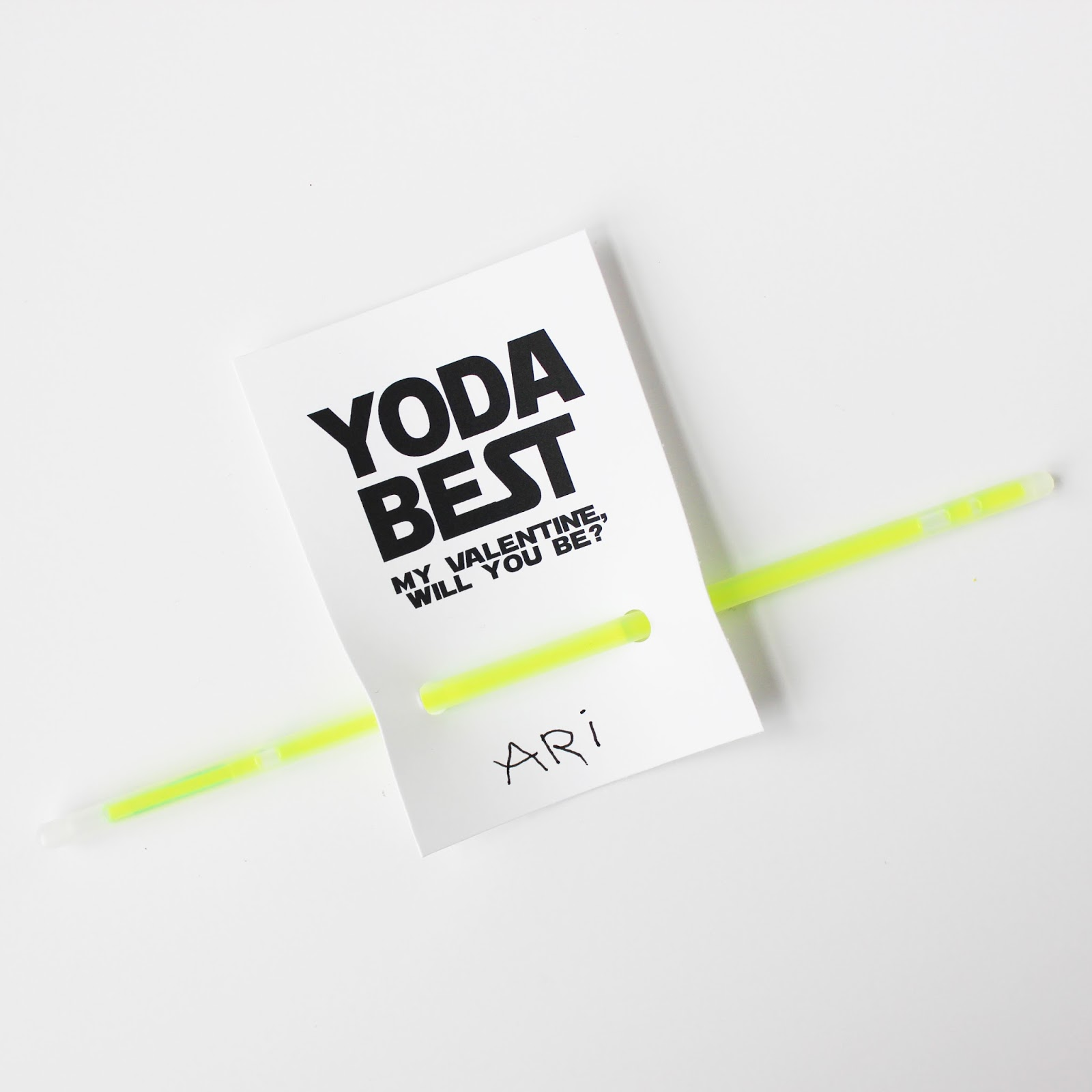 picture about Yoda Printable known as YODA Ideal Training course VALENTINES (Cost-free PRINTABLE)