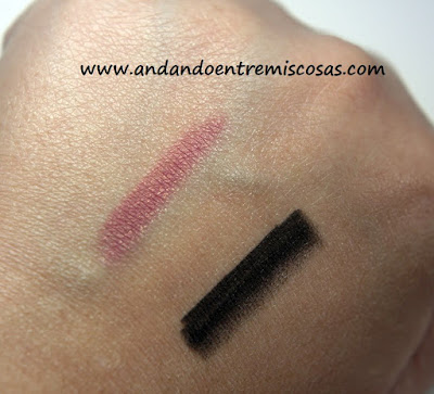 Swatches lápices Deborah Milano
