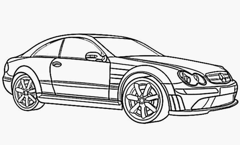 Malvorlagen Autos Mercedes My Blog