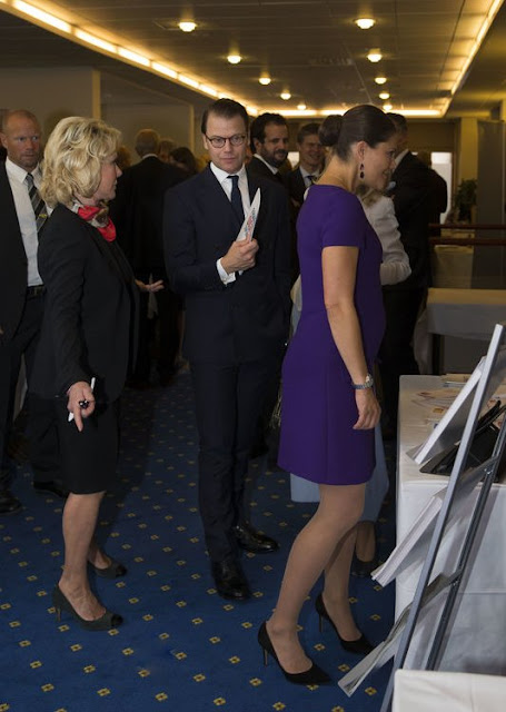 Prince Daniel attended the French-Swedish Business Forum at the Grand Hôtel