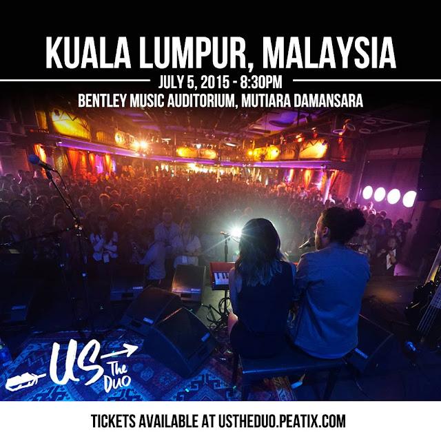 Us The Duo Live in Kuala Lumpur 2015