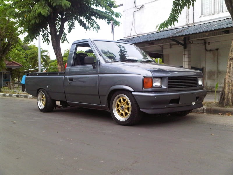 modifikasi mobil isuzu panther pick up