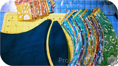 Prosperitystuff Quilts Beginning A Batik Double Wedding