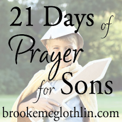 21 Days of Prayer for My Sons