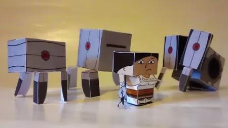 Batch 2 Portal Petites Paper Toys