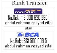 Informasi Bank Transfer