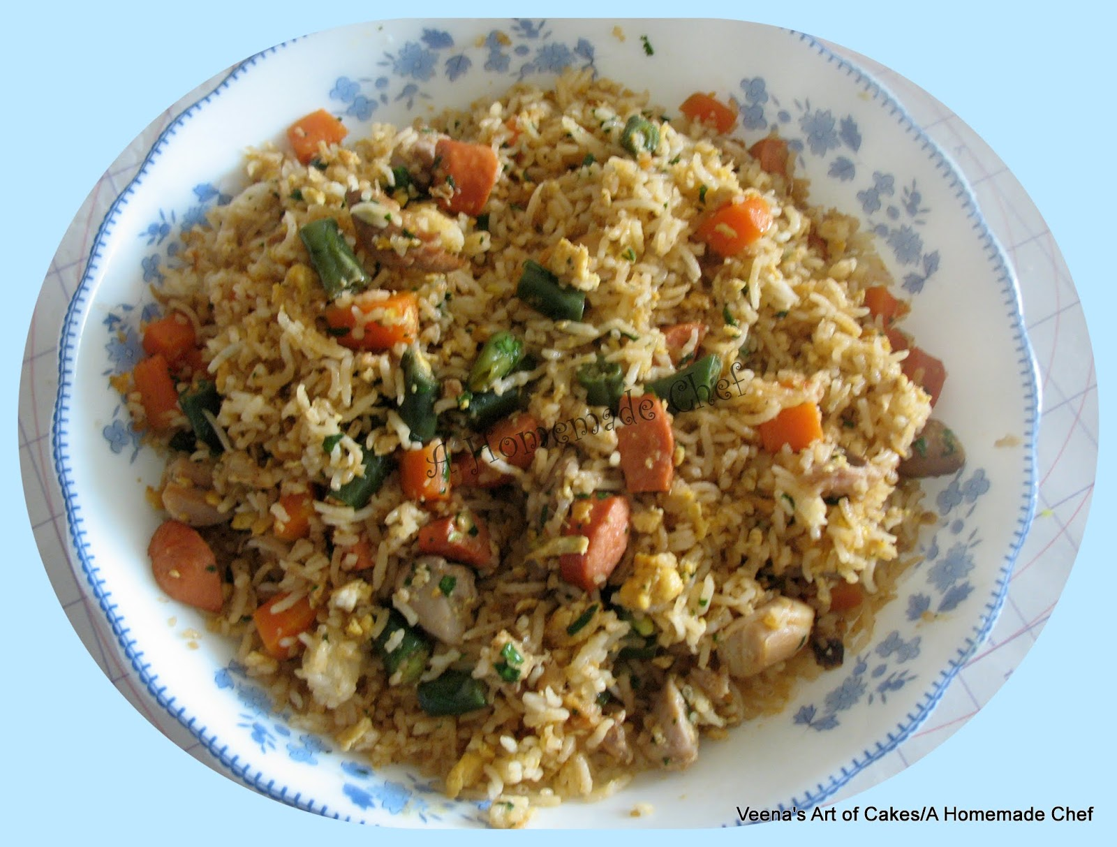 how to make homemade chinese fried rice