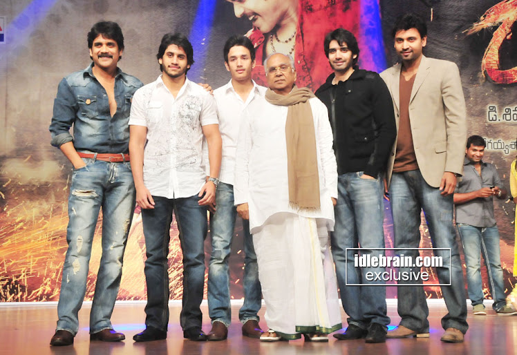 Nag family akkineni nagarjuna total history nag family thecheapjerseys Image collections