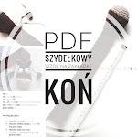 PDF- szydełkowy wzór na zakładke KOŃ