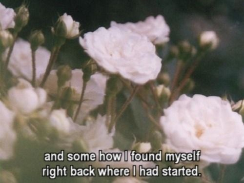 And Somehow I Found Myself Right Back Where I Had Started