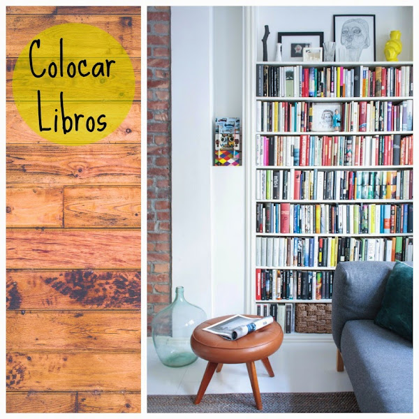 Decoracion con libros decorar tu casa es for Decoracion con libros