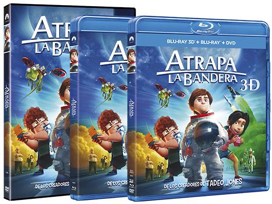 Ya a la venta 'Atrapa la bandera' en DVD, Blu-ray y Blu-ray 3D