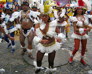 afro brazilian culture parade in bahia