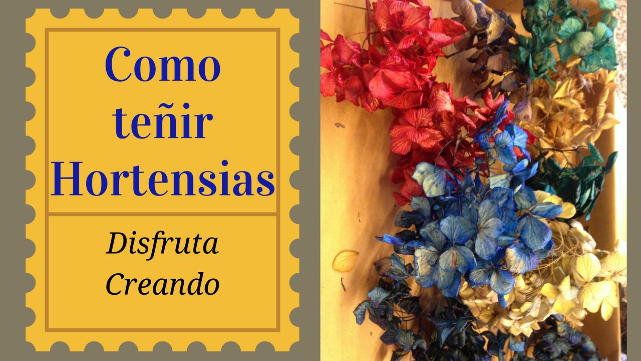 By disfruta creando 10 32 no comments - Como secar hortensias ...