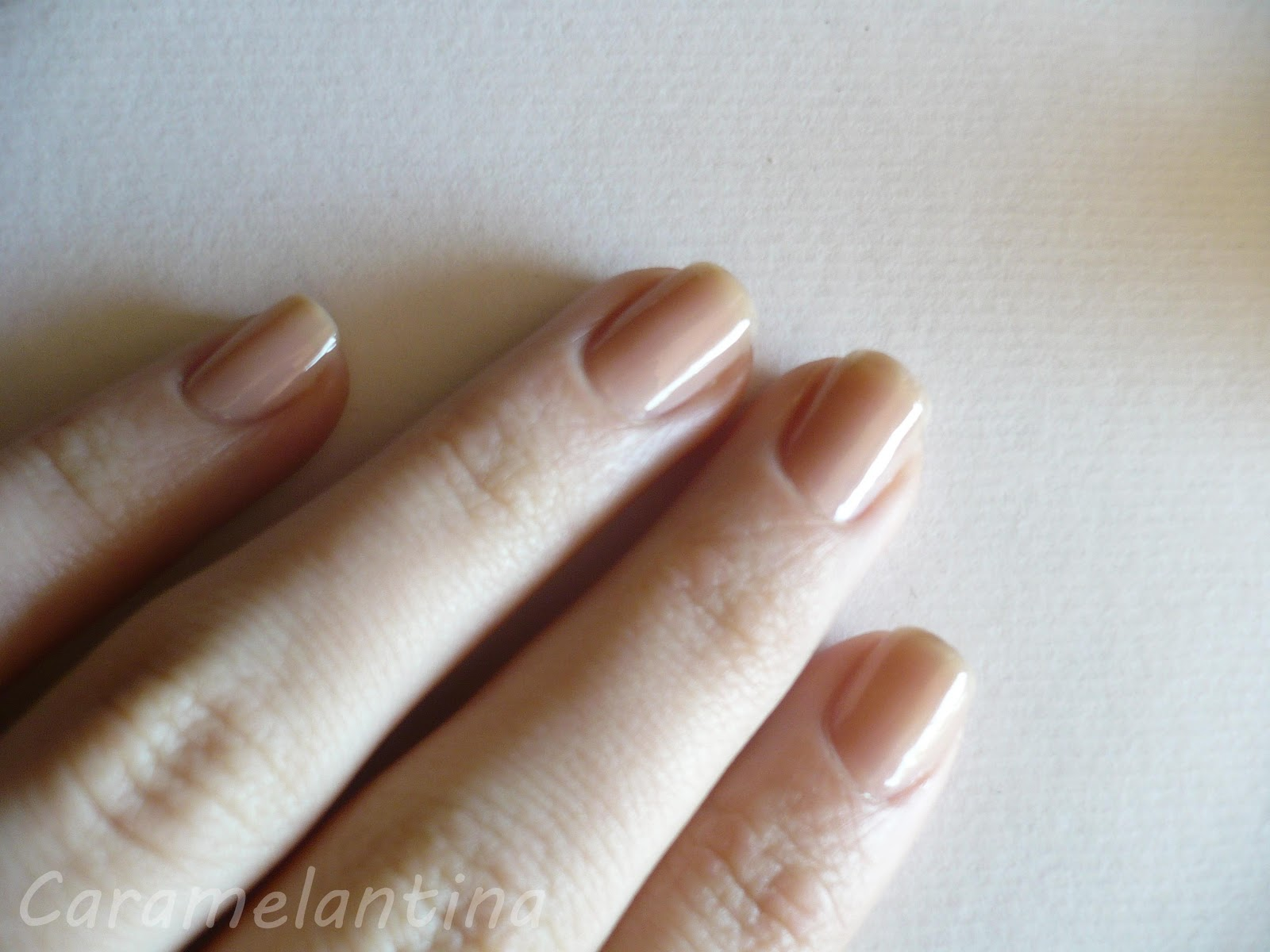Gradient tutorial degradé Revlon Sheer Nude