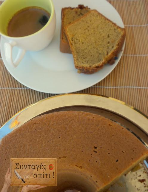 Αφράτο κέικ με καφέ