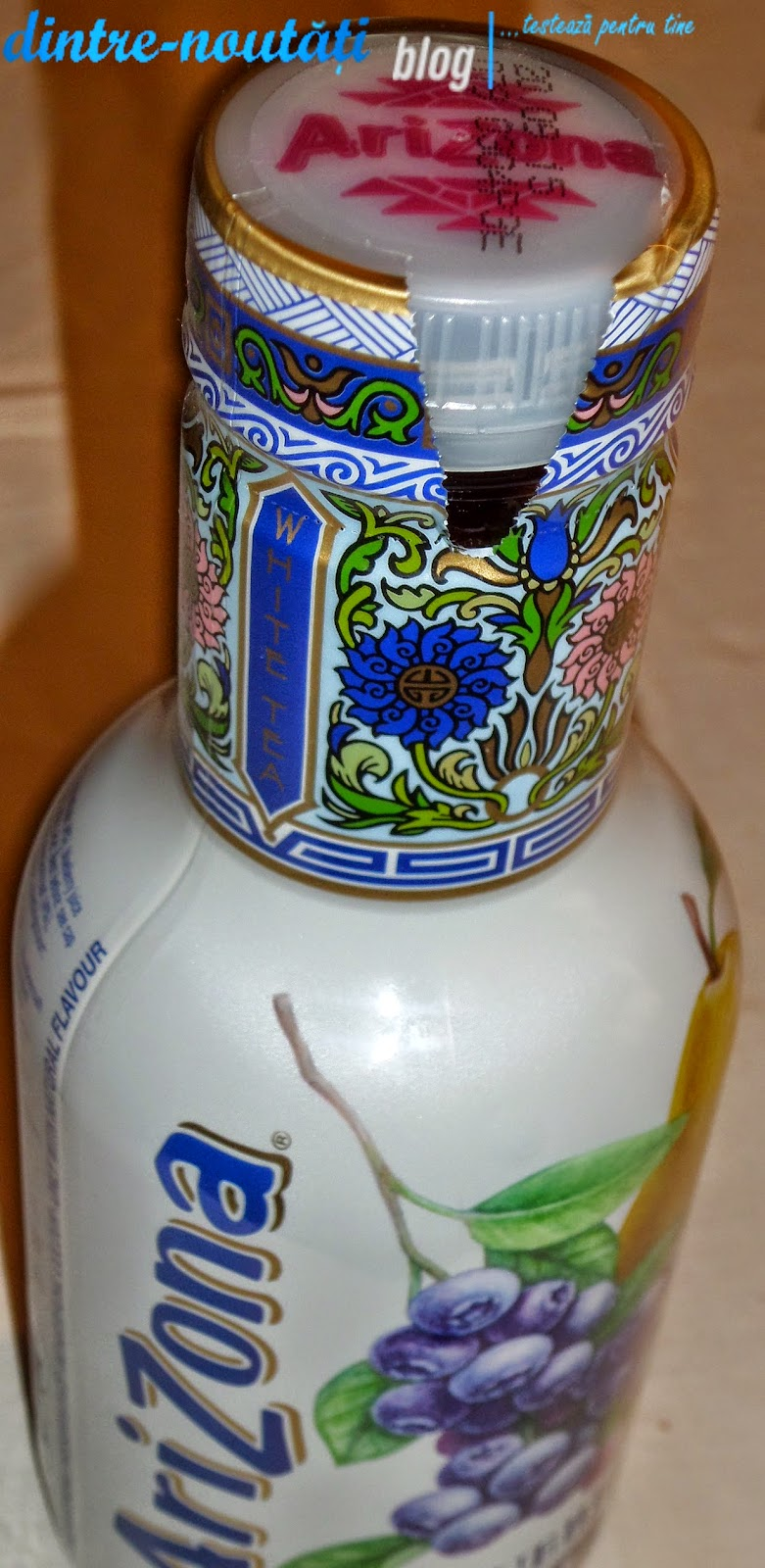 Ceai alb cu afine miere si pere