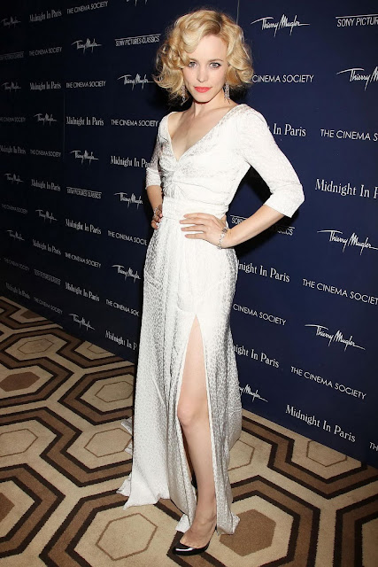Rachel McAdams Wearing Louise Vuitton At 'Midnight in Paris' Screening Pics