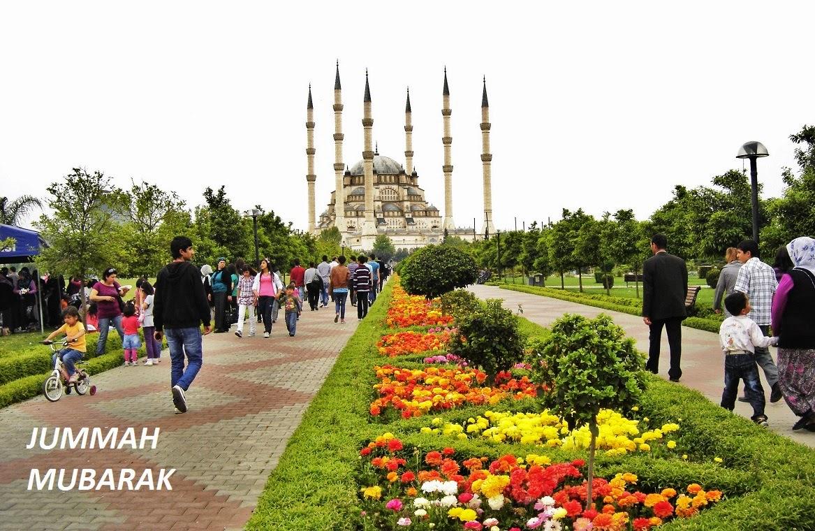 JUMMAH MUBARAK CARDS, IMAGES AND MESSAGES ON TURKEY / ADANA SABANCI ...