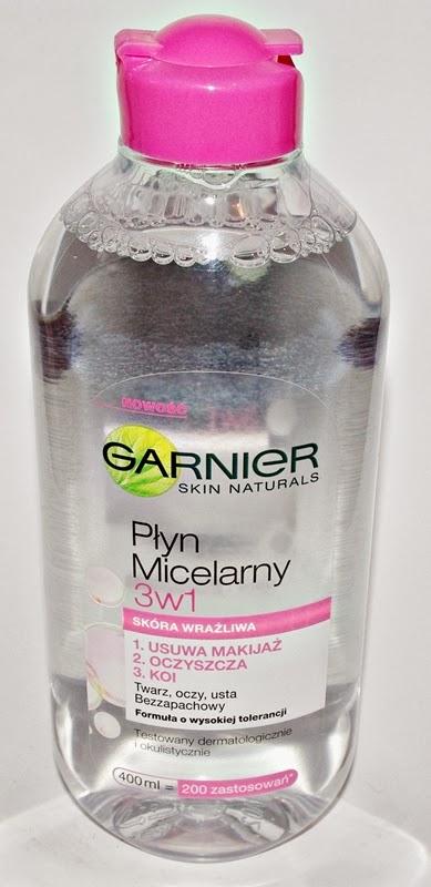 Płyn micelarny Garnier 3w1