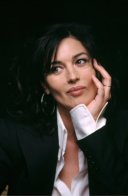 Monica Bellucci sweet look