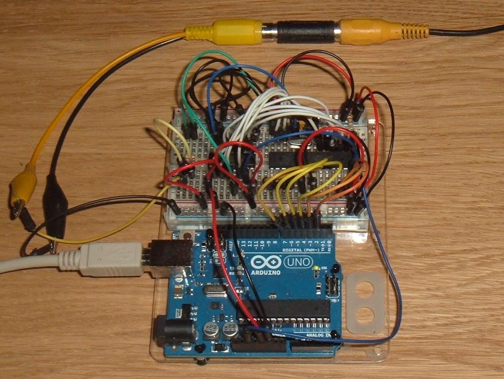arduino uno - Sending colours to vga monitor - Arduino
